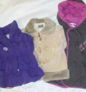 Дубленка и Куртки 1-2 года