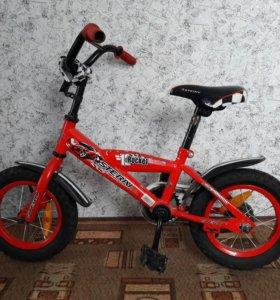 Велосипед детский для 3-4 лет