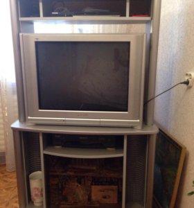 Тумба с телевизором