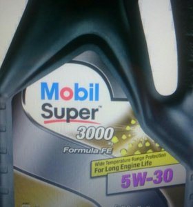 Масло Mobil Super 3000 X1 Formula FE 5W40 152056