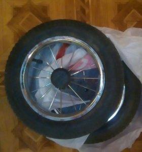 2 колеса на коляску