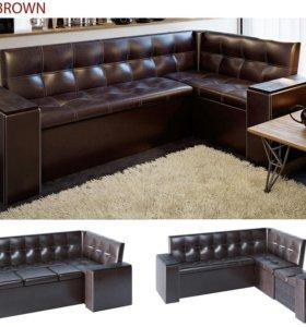 Кухонный угловой диван со спальным местом в наличи