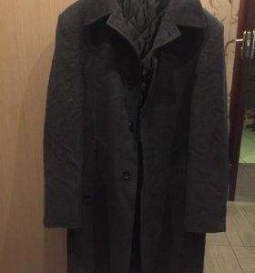 Пальто мужское класическое  весна/осень, драп