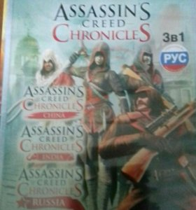 диск Assassin's creed Chronicles