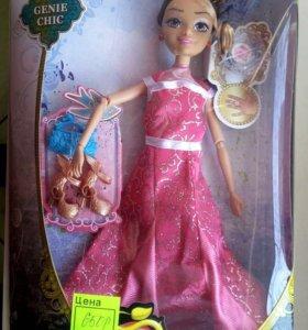 Кукла новая наследницы шарнирная