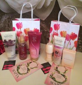 Подарочный набор косметики на 8 марта