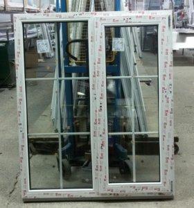 Окно КВЕ 70 Эксперт с двухкамерным стеклопакетом
