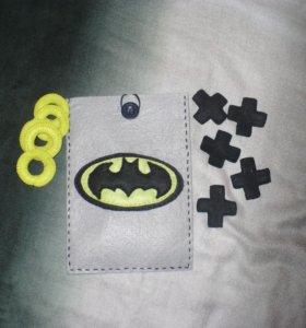 """Игра крестики-нолики """"Бэтмен"""""""