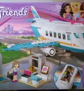 Конструктор аналог Лего френдс частный самолет