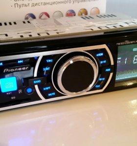Автомагнитола Pioneer USB. AUX. SD. MP3