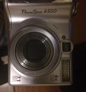 Canon A550