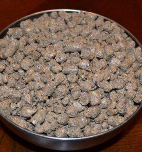 Пшеница гранулированная в мешке и валом