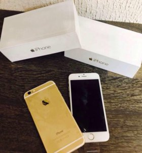 iPhone 6 16 Gb Silver/Gold no touch