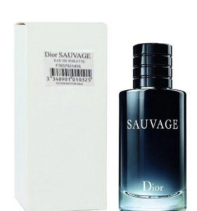 Тестер саваж диор оригинал Dior sauvage 100 мл