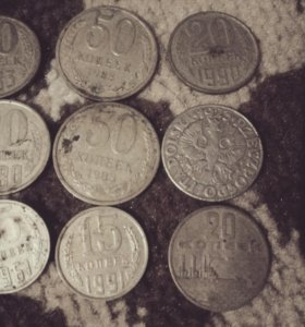 Старый монеты