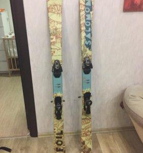 Лыжи для фристайла