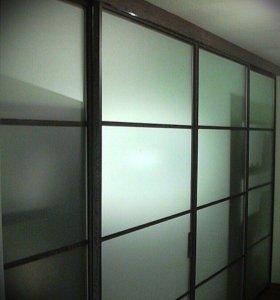 Стеклянные двери от производителя