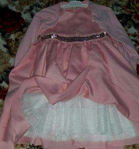 Платье нарядное 98