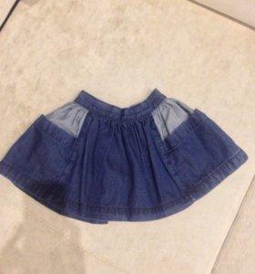 Джинсовая юбка новая