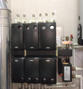 Системы отопления, водоснабжения,Бассейны
