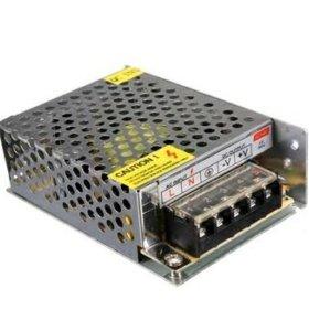 Блок питания светодиодных лент и др. 12в. 5А.