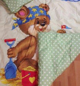 2 комплекта постельного белья ( детское)