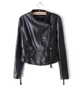 Куртка новая кожзаменитель:)