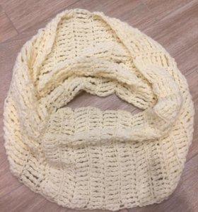 Хомут, шарф ручной вязки