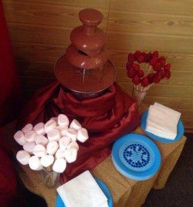 Аренда шоколадного фонтана
