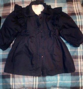 Пальто, весна.Новое.