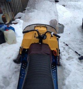 Продам снегоход в отличном состоянии!
