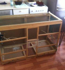 Клетка для разведения попугаев