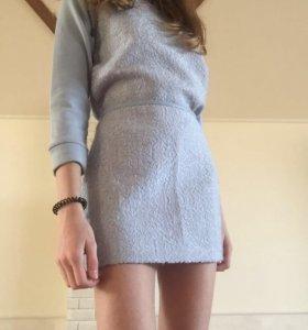 Костюм для девочки юбка с кофтой