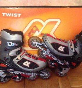 Роликовые коньки Twist Sport Collection