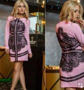 Новое розовое платье с биркой