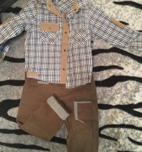 Одежда на мальчика до года