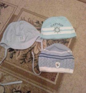 Летние шапочки для самых маленьких