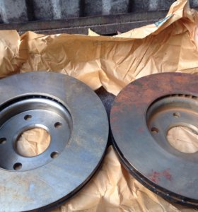 Ford Focus 3 Тормозные диски (передние, новые)