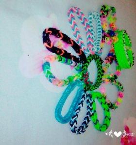 Резинки и браслеты