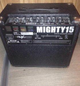 Комбоусилитель для электрогитары NUX Mighty15SE