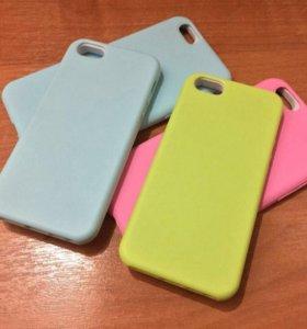 Силиконовые чехлы на iPhone 5/5s,6/6s