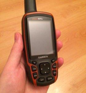 Глонасс GPS навигатор Garmin Gpsmap 64s