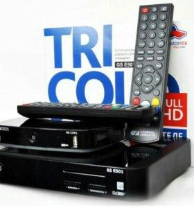 Триколор ТВ + Эфирное ТВ
