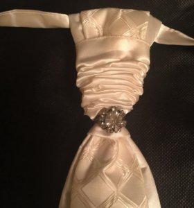 Галстук и платочек