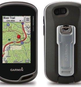 Глонасс GPS навигатор Garmin Oregon 650t