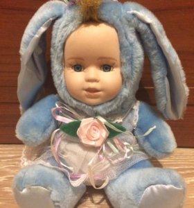 "Фарфоровая кукла ""Зайчик"""