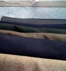 Ткани шерсть костюмные