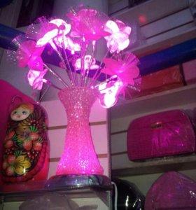 Светильник с вазой