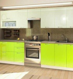 Кухонный гарнитур в мдф плёнке Ленель
