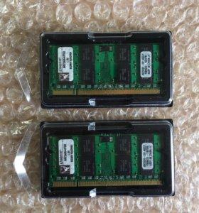 Память для ноутбука Kingston DDR2 2Gb PC2-5300
